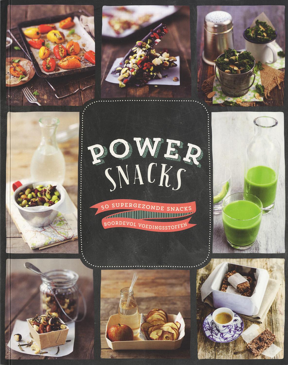 Powersnacks - 50 supergezonde snacks boordevol voedingsstoffen -  div. medewerkers